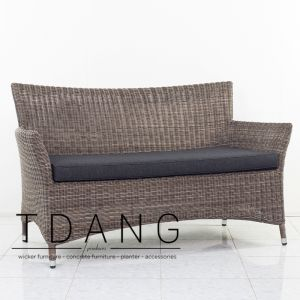 Manning Wicker Sofa 2 seats (Code 3005)