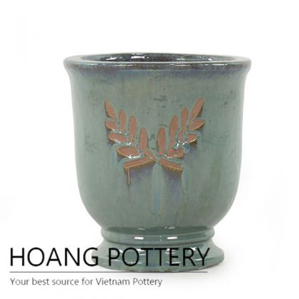 Best design moss green cup planter